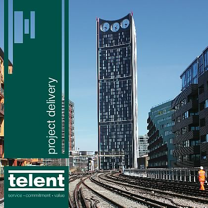 dzinr - telent Rail Telecoms Brochure Folder