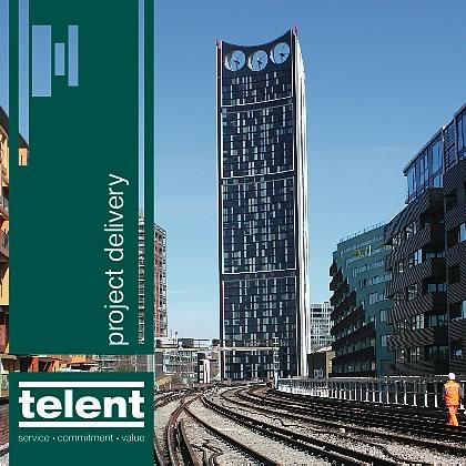 dzinr - telent Rail Telecoms Brochure Folder