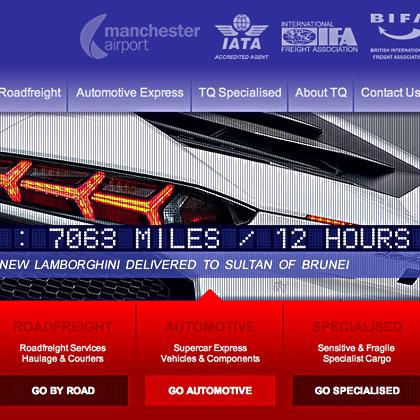 dzinr - Specialist Cargo Website