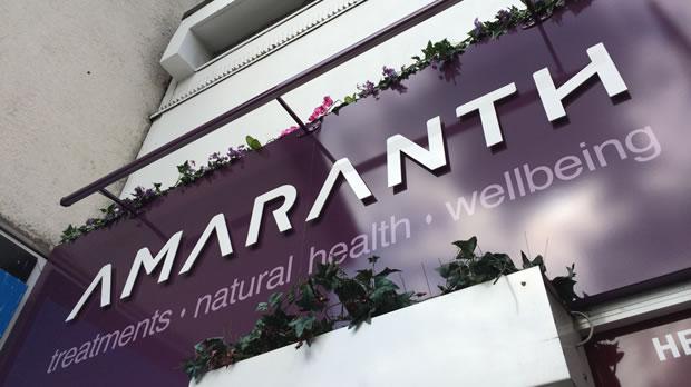 New Shop Front Completes Amaranth Rebrand