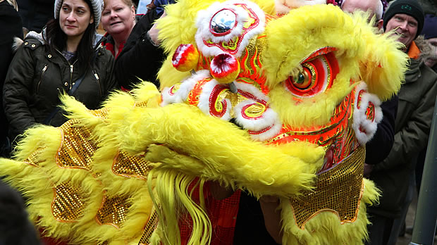 A Chinese Lion in a Cheshire Village?